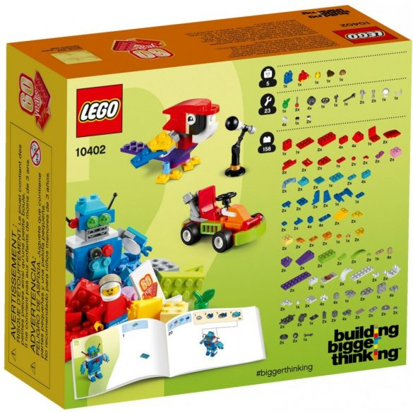 Lego 10402 Classic Fun Future