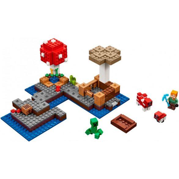 Lego 21129 Minecraft The Mushroom Island