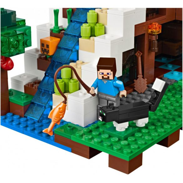 Lego 21134 Minecraft The Waterfall Base