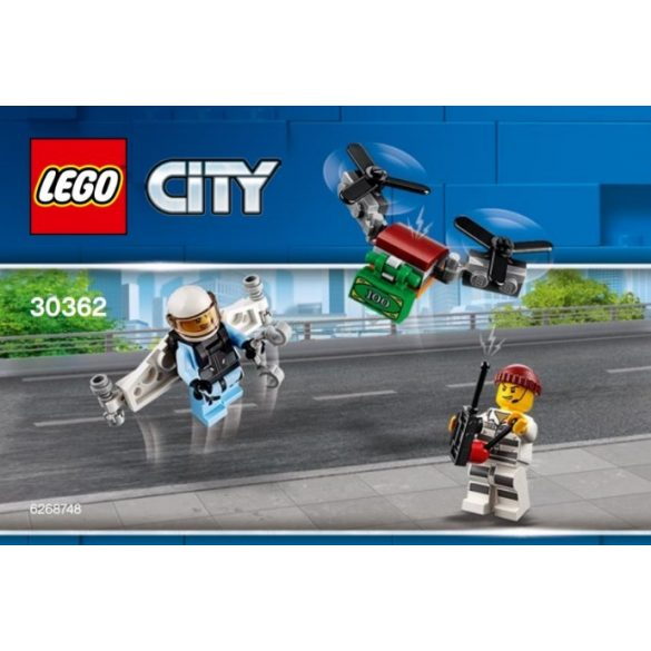 Lego 30362 City Légi rendőrség hátirakéta