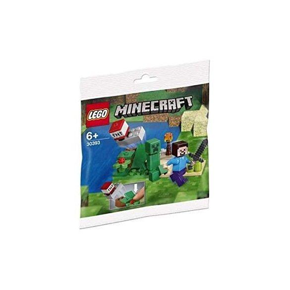 Lego 30393 Minecraft Steve és a Creeper