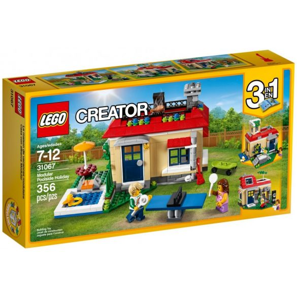 Lego 31067 Creator Modular Poolside Holiday