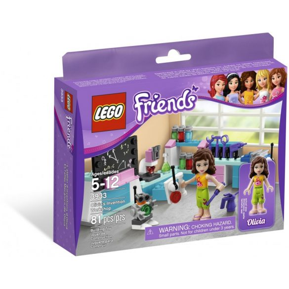 Lego 3933 Friends Olivia's Invention Workshop