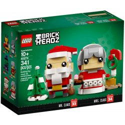 Lego 40274 BrickHeadz Mr. & Mrs. Claus