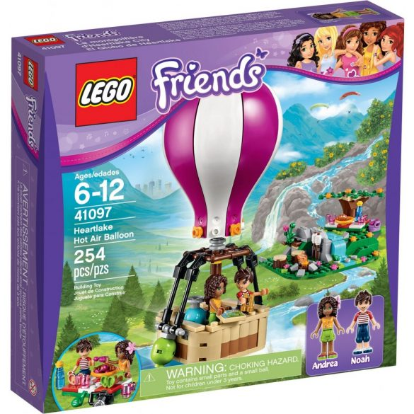Lego 41097 Friends Heartlake hőlégballon