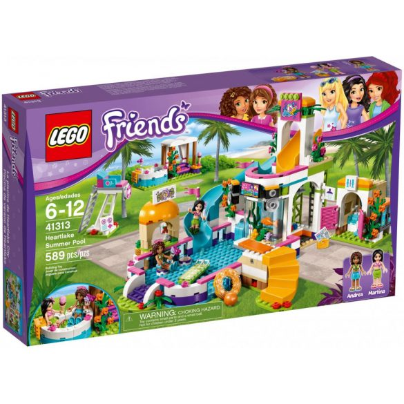 Lego 41313 Friends Heartlake Summer Pool