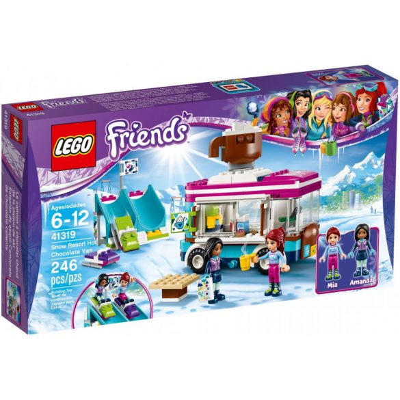 Lego 41319 Friends Snow Resort Hot Chocolate Van