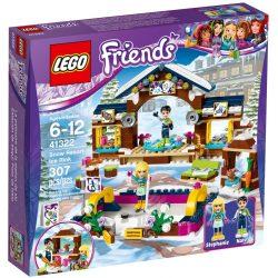 Lego 41322 Friends Jégpálya a havas üdülőhelyen