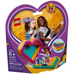 Lego 41354 Friends Andrea szív alakú doboza