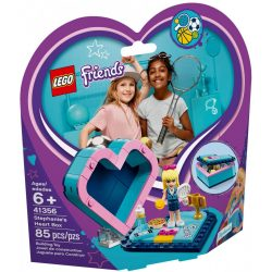 Lego 41356 Friends Stephanie szív alakú doboza