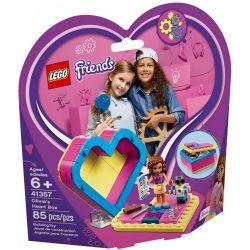 Lego 41357 Friends Olivia szív alakú doboza