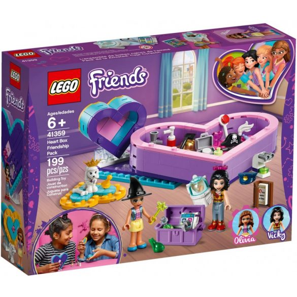 Lego 41359 Friends A barátság Szív alakú doboza