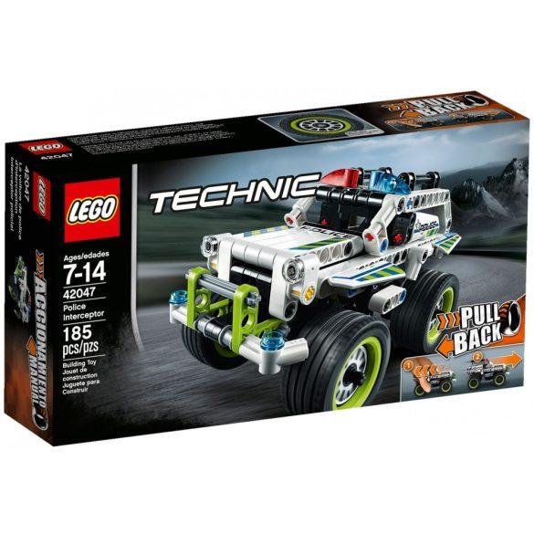 42047 Lego® Technic Rendőrségi elfogó jármű
