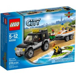 Lego 60058 City SUV with Watercraft