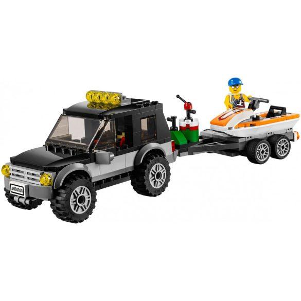 60058 Lego® City Vontató autó és jet ski