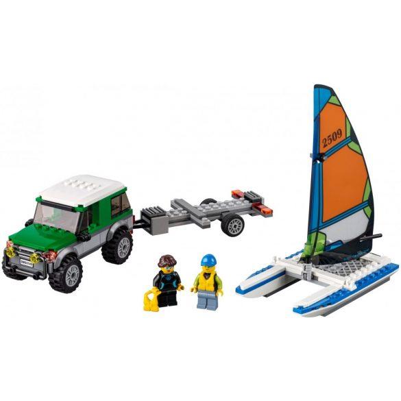 Lego 60149 City 4x4 with Catamaran
