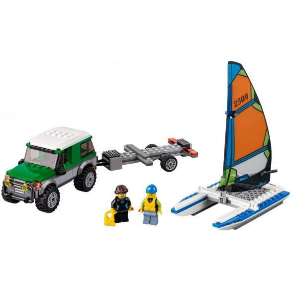Lego 60149 City 4x4 with Catamaran