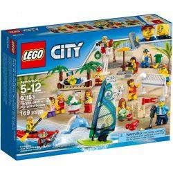 Lego 60153 City Figuracsomag - Szórakozás a tengerparton