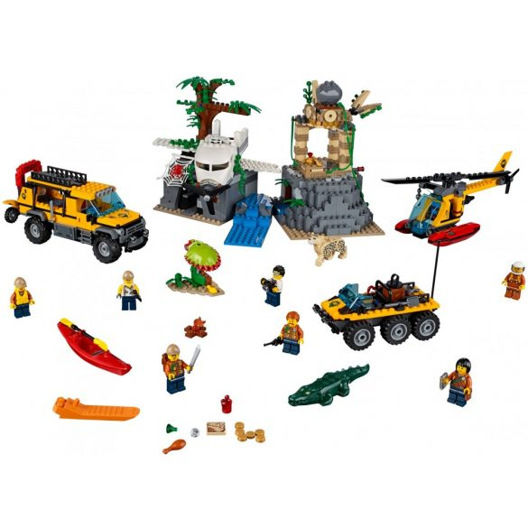 Lego 60161 City Jungle Exploration Site