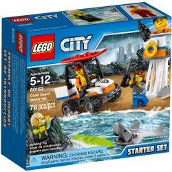 Lego 60163 City Parti őrség kezdőkészlet