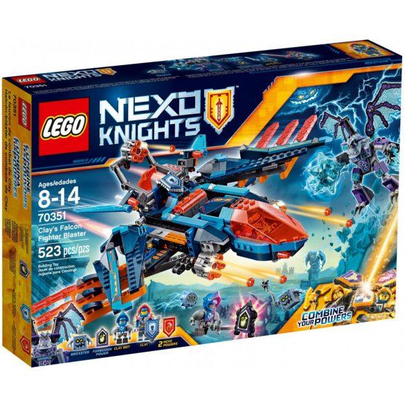 Lego 70351 Nexo Knights Clay sólyomvadász ágyúja