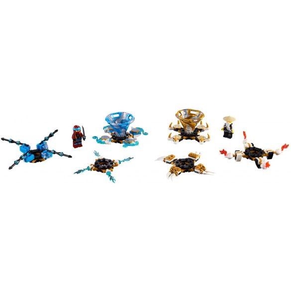 Lego 70663 Ninjago Spinjitzu Nya és Wu