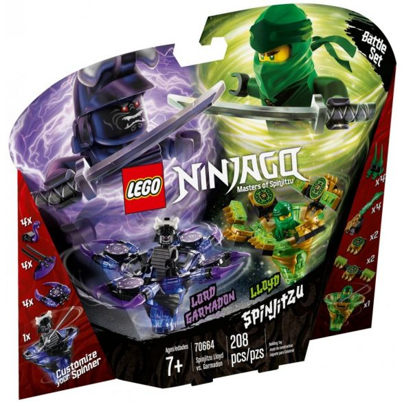 Lego 70664 Ninjago Spinjitzu Lloyd Garmadon ellen