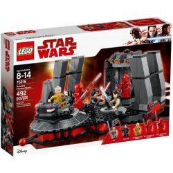 Lego 75216 Star Wars Snoke trónterme