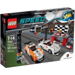 75912 Speed Champions Porsche 911 GT célvonal