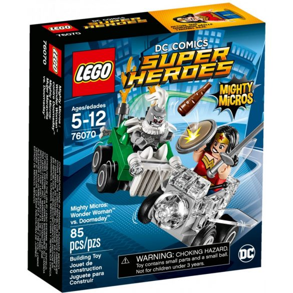 Lego 76070 Super Heroes Mighty Micros - Wonder Woman és Doomsday összecsapása