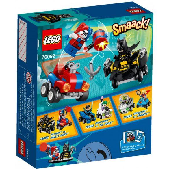 Lego 76092 Super Heroes Mighty Micros - Batman és Harley Quinn összecsapása