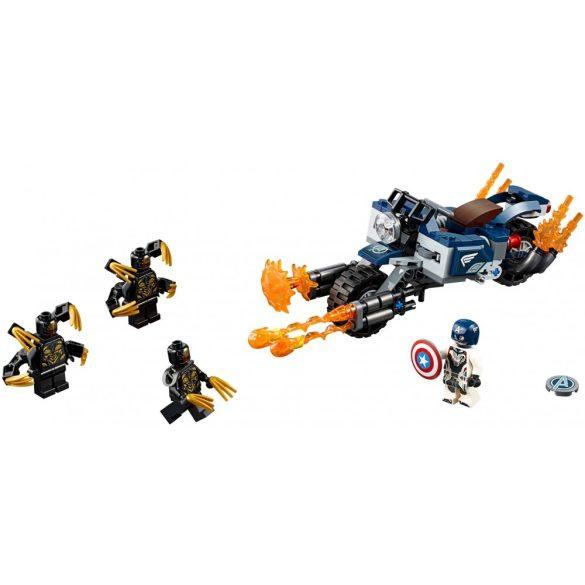 Lego 76123 Super Heroes Amerika Kapitány Outrider támadás