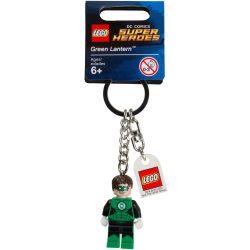 Lego 853452 Kulcstartó Zöld Lámpás