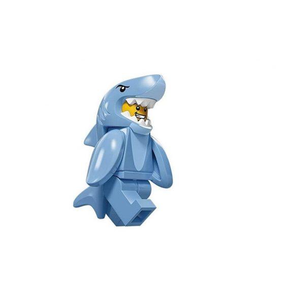 col15-13 Lego Minifigurák 15.sorozat Cápajelmezes fiú