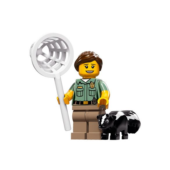 Lego col15-8 Minifigures Series 15 Animal Control Officer
