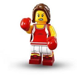 col16-8 Lego® Minifigurák 16.sorozat Kickboxoló lány