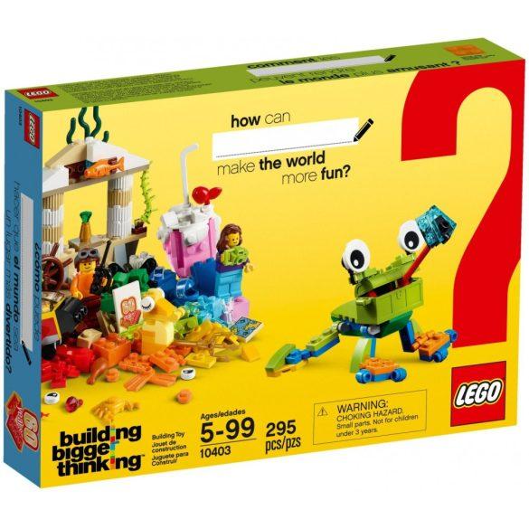 LEGO 10403 Classic Szórakoztató világ