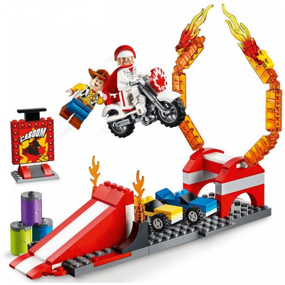 LEGO 10767 Toy Story 4 Duke Caboom kaszkadőr bemutatója