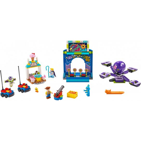Lego 10770 Toy Story 4 Buzz és Woody Karneválmániája