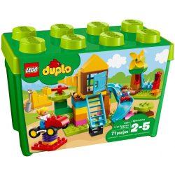 Lego 10864 DUPLO Nagy játszótéri elemtartó doboz