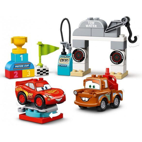 LEGO 10924 DUPLO Villám McQueen versenyének napja