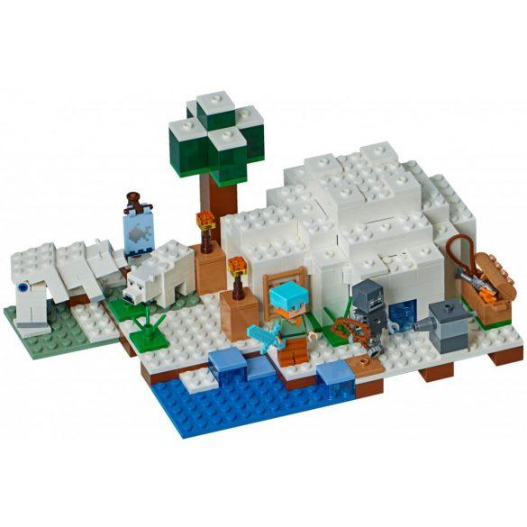 Lego 21142 Minecraft A sarki iglu