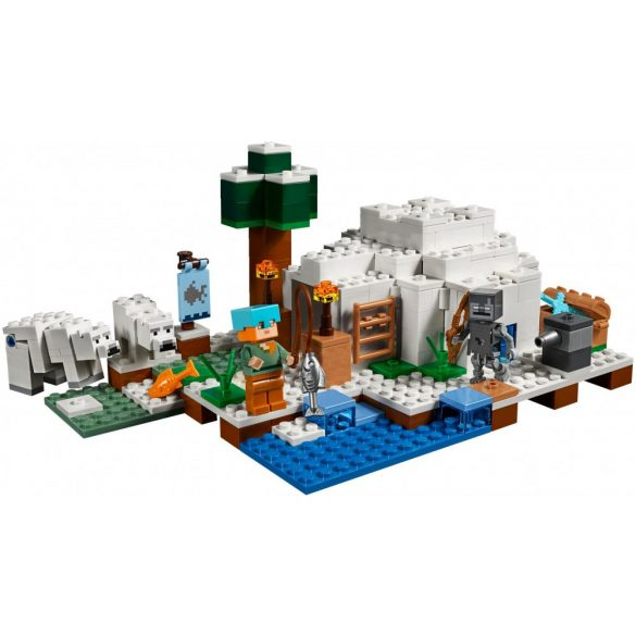Lego 21142 Minecraft The Polar Igloo