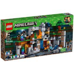 Lego 21147 Minecraft Kalandok az alapköveknél