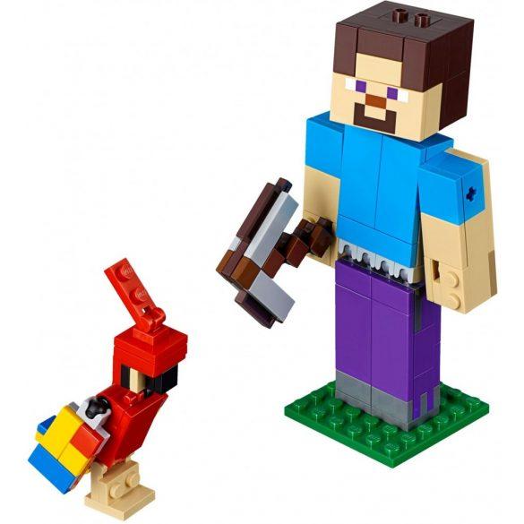 LEGO 21148 Minecraft Minecraft Steve BigFig with Parrot
