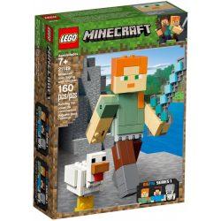 LEGO 21149 Minecraft BigFig Alex csirkével