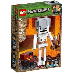 LEGO 21150 Minecraft BigFig Csontváz magmakockával