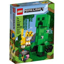 LEGO 21156 Minecraft BigFig Creeper és Ocelot