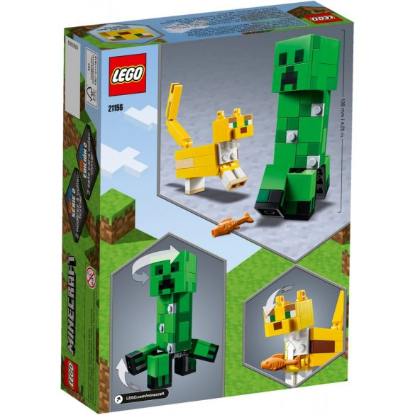Lego 21156 Minecraft BigFig Creeper and Ocelot