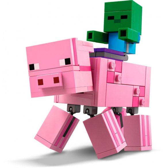 Lego 21157 Minecraft BigFig Pig with Baby Zombie